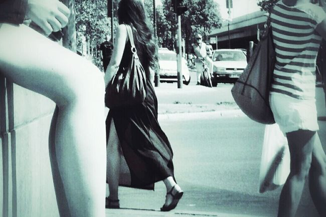 These Legs Where Made For Walking Streetphotography Blackandwhite Lovelysummerday Summer In The City