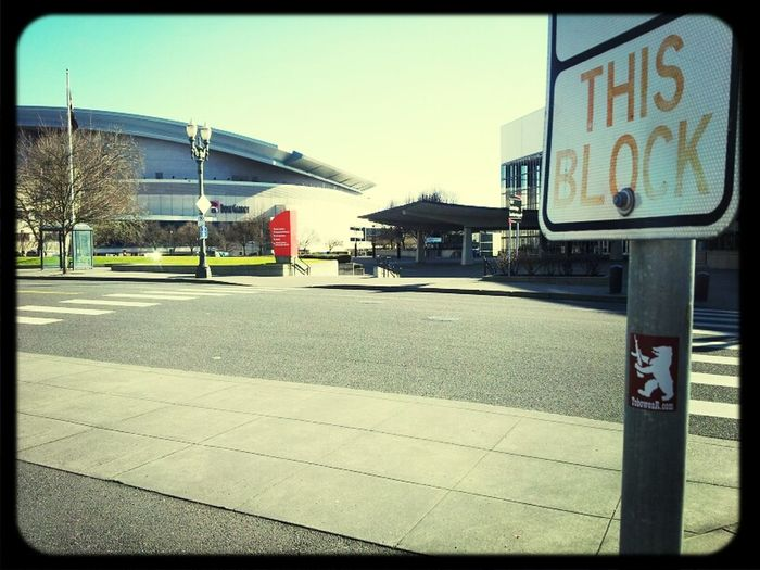 at the Rose Garden home of the Portland Trail Blazers!! Let`s get blazed!! Rose Garden Portland Trail Blazers
