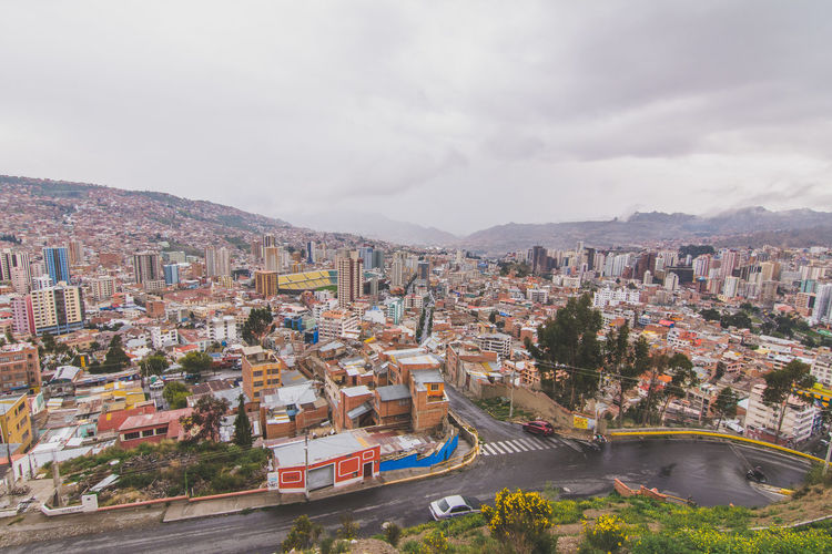 Architecture Built Structure Building Exterior City Cityscape Cloud - Sky Sky High Angle View Crowded Residential Building Water Mountain Residential District Development Cloudy Day Outdoors Community City Life Cloud BOLIVIA ❤ La Paz Bolivia La Paz, Bolivia