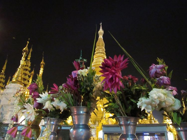 Myanmar From My Point Of View Shwedagon Pagoda Donation Good Deed