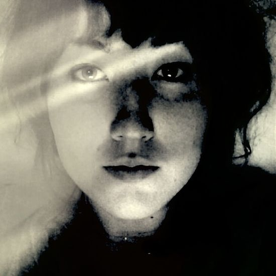 Personhood Black & White Self Portrait Light And Shadow