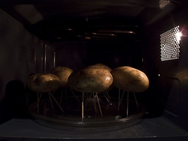 They Have Landed Potatoes Potato Oven Abstract Foodphotography Food Photography Alien Aliens Invasions Alien Invasion UFO Sightings Microwave Indoors  Freshness Close-up Brown Medium Group Of Objects Group Of Objects Messy No People Surface Level Ready-to-eat