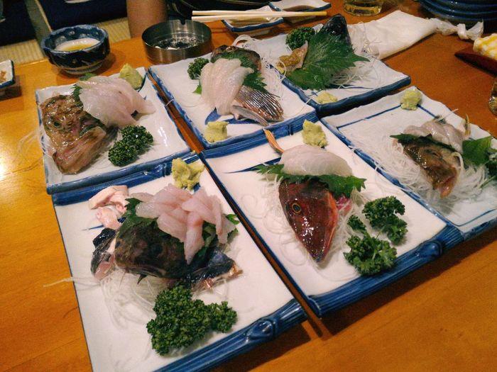 ほっかいどう 刺身 Japan 北海道 *Sashimi*... Sashimi  函館 Hokaido Hokkaido 日本