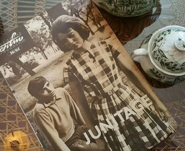 Timetraveling in June . Picturesofpictures Nostalgia Summerfeeling Vintage Moments Vintage Old Movies  Onmytable Urban Romantic