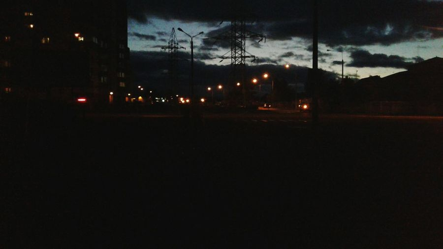 Old Foto  Summer 2016 Belarus Borisov Sky Evening Beauty In Nature Street Photography