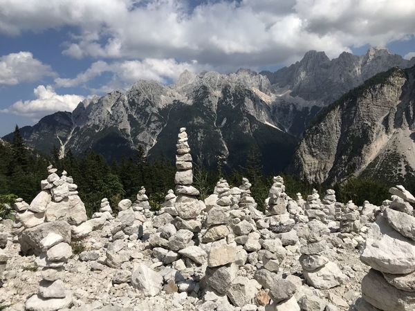 Beauty In Nature Cloud - Sky Day Environment Formation Landscape Mountain Mountain Peak Mountain Range Nature No People Non-urban Scene Outdoors Remote Rock Rock - Object Scenics - Nature Sky Solid Stone - Object Tranquil Scene Tranquility