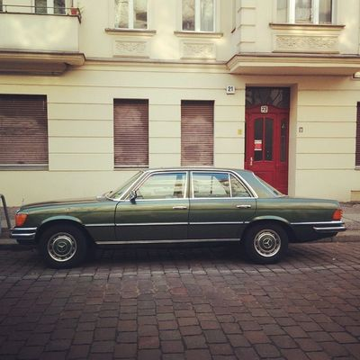 Guten Morgen Berlin Mercedesbenz Mercedes Benz Oldtimer Altekarrenbattle