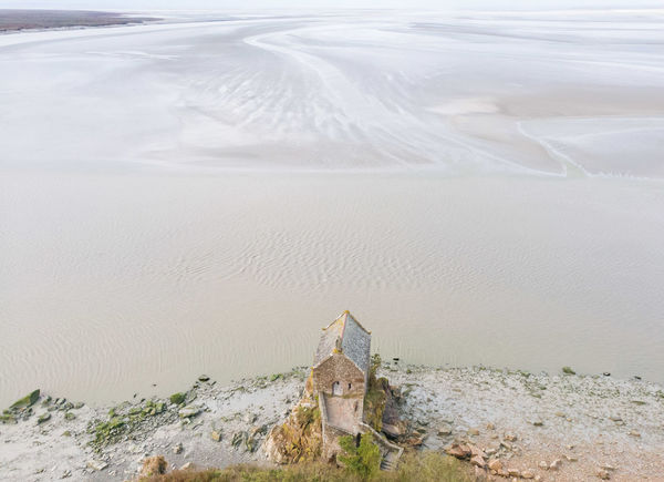 Mont Saint Michel, France. Aerial View Beauty In Nature Cold Temperature Day Extreme Terrain Landscape Nature No People Outdoors Sand Dune Scenics Snow Fresh On Market 2016