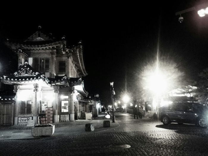 Night Street Photography 전주한옥마을 Jeonju South Korea