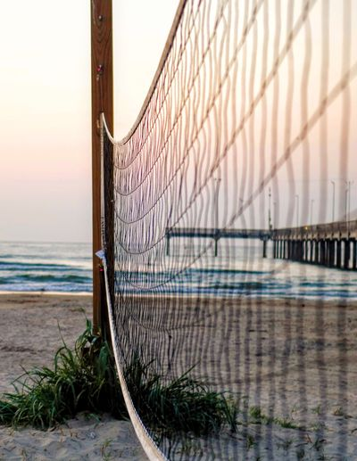 Water Beach Volleyball Sea Sport Beach Soccer Competition Net - Sports Equipment Goal Post Sky Wooden Post Shore Sand My Best Photo