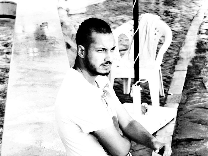 Relaxing Hello World Hot Day Handsome Handsome😍 Handsome Man Handsome Guy  Blackandwhite Black And White Black & White Algeria Algerian Eyeem Tunisia Tunisia Tunisia <3