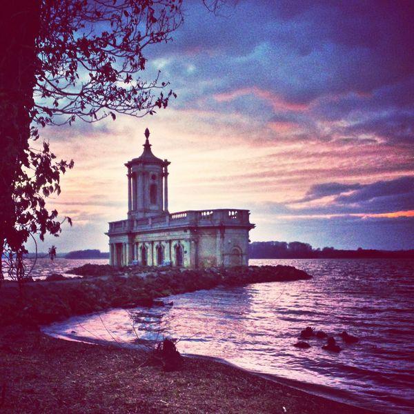 Violet By Motorola Normanton Church Rutland Water Purple Beautiful Sunset EyeEm Best Shots