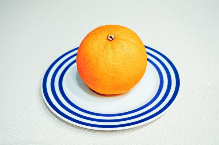 stripes Citrus Fruit Close-up Food Food And Drink Freshness Fruit Fruit Photography Healthy Eating Healthy Lifestyle Indoors  Minimal Minimalmood Minimalobsession Orange - Fruit Orange Color Ready-to-eat Simplicity Single Object Still Life Studio Shot White Background Stripes Pattern Striped 10