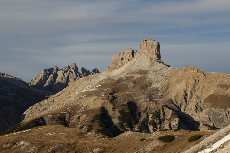 Beautiful National Park Beauty In Nature Day Dolomiti Dreizinnen Formation Of Nature Landscape Mountain Nationalgeographic Nature No People Outdoors Physical Geography Rock - Object Rock Formation Scenics Sky