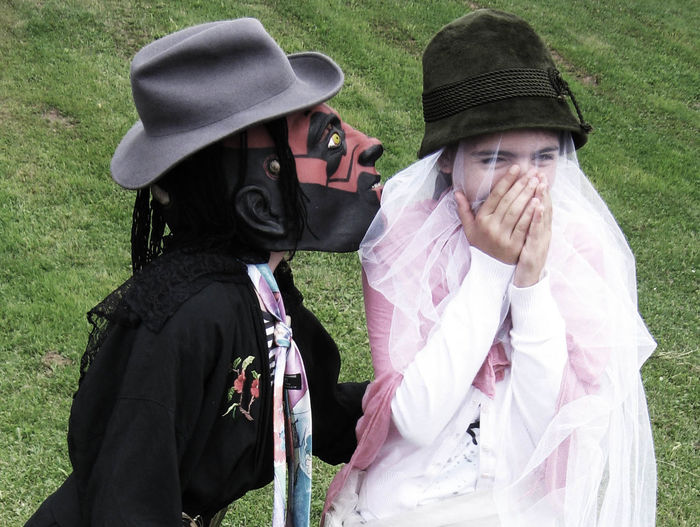 children at carneval Children Disguise Joy Joyful Laugh Lifestyles Love Mask Outdoors Young Altensteig