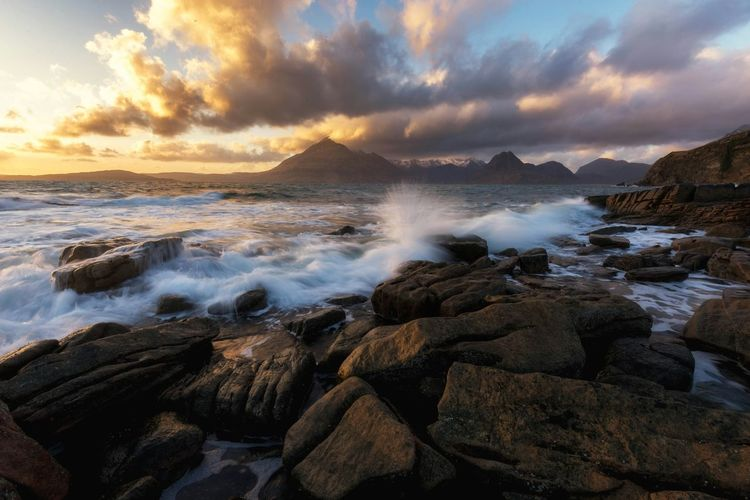 Elgol Isle of Skye Landscape_Collection Scotland Sunset Sea Seaside Clouds Eye4photography