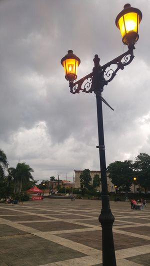 Lamp Square Santo Domingo Colonial Style Zona Colonial Colonial Leftovers Dominican Republic Photography