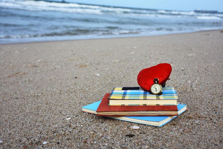 Toy on beach