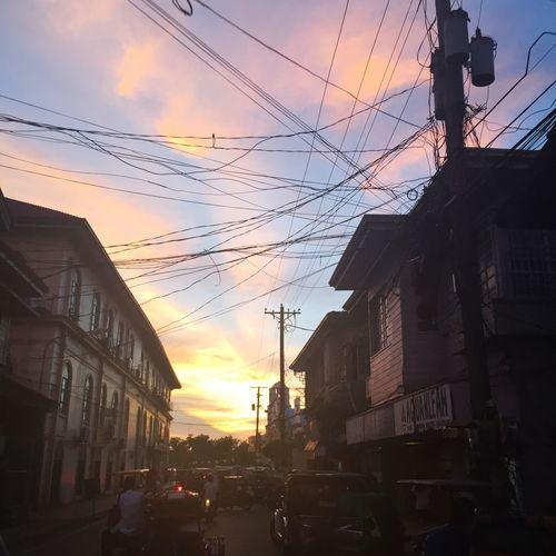Todays sunset. Roxas City Sunset Sky Nature Capiz