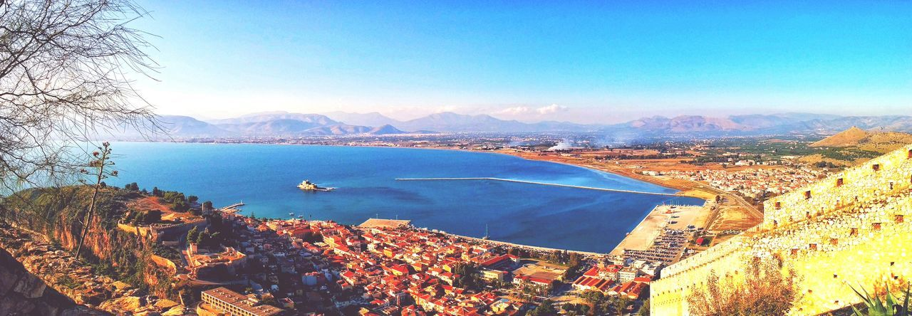 Panoramic Photography Nafplion Greece Panoramic