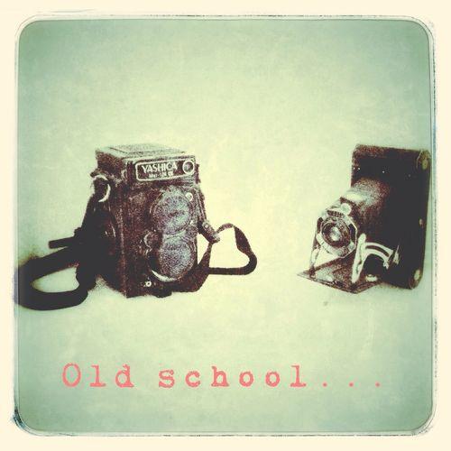 Old school...