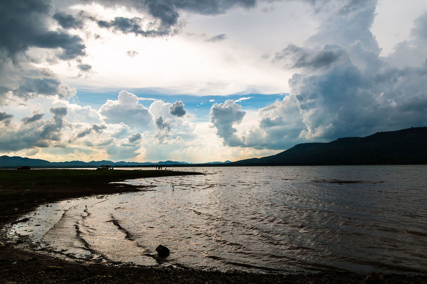 The Nature of cloud always change all the time. Nature Abstract Background Beauty In Nature Climatechange Cloud - Sky Day Environment; Evening; Fantastic; Fluff; Freedom; Light And Shadow Mountain Nature No People Outdoors Rainy; Scenics Sky Sunset; Tranquil Scene Tranquility Water Weather;
