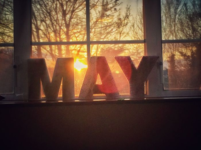 May Sunset in
