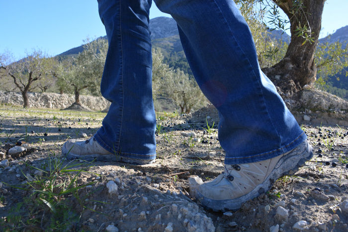 Hiking in the countryside Adult Adults Only Close-up Day Exercise Footwear Healthy Lifestyle Hiking Hiking Boots Human Body Part Human Leg Jeans Limb Low Section Nature One Person Outdoors People Real People Walking Alone... Walking Boots The Great Outdoors - 2017 EyeEm Awards Mix Yourself A Good Time