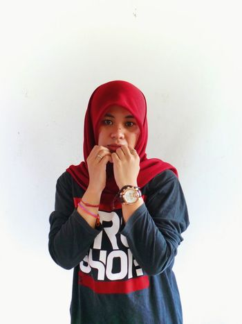 Hijab 🙏 Casual Clothing One Person Looking At Camera Human Body Part Warm Clothing Only Women One Woman Only Portrait Child Hooded Shirt Woman Portrait Eye Em Best Shots Eye Em New Here Eye Em Collection Woman In Red Womanofstyle Hijabbeauty Hijabstyle  Hijabers_indonesia Hijabmodel Hijaboftheday Hijabers Muslimahfashion Muslimahrockers Muslimah