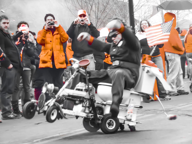 Dyngus Day Parade a few years ago when I was still pretty new to photography. I had just gotten my Samsung smart camera for Christmas a couple months before. Dyngus Day is the day after Easter every year and Buffalo Ny has the largest Dyngus Day celebration in the whole Country! People come from all over the world to take part in the festivities. Action Photography Action Shot  Casual Clothing Day Dyngus Day Fun Fun Times Leisure Activity Lifestyles Outdoors Parade Parade Time Parades Photojournalist - 2016 EyeEm Awards Tank Tanks The Street Photographer - 2017 EyeEm Awards