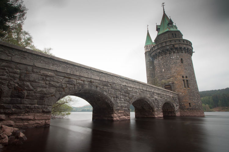 Architecture Bridge - Man Made Structure Building Exterior Built Structure Day History No People Outdoors River Sky Travel Destinations Tree Water