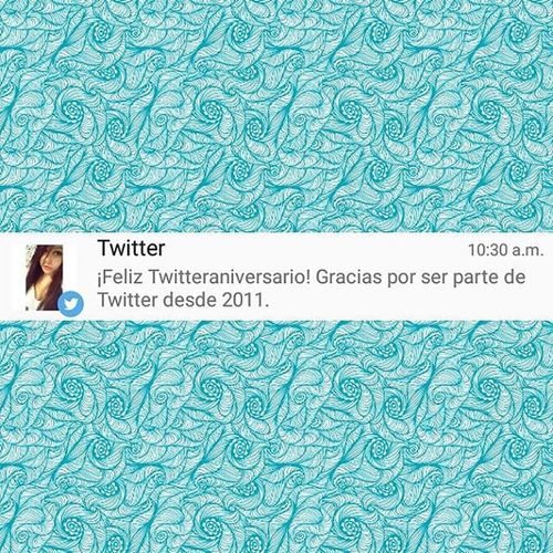 Twitteraniversario haha desde 2011 💗 Twitter