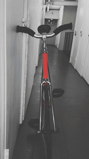 Ready to bomb a few hills!!! Fixedgear Fixed Gear Bicycles Red Splash Black & White Bllack And White Photography Oakland, Ca. San Francisco, California Cleaning Equipment Water Cleaning Home Improvement Domestic Room Hygiene DIY Red