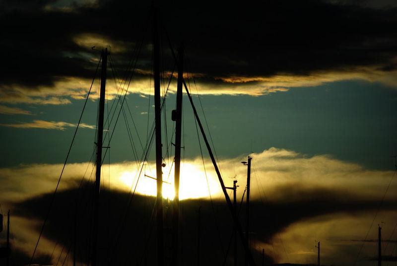 Marina storm clouds Yachts Beauty In Nature Dramatic Sky Marina Harbor Mast Sailboat Ship Masts Silhouette Storm Clouds At Sunset Sunset Yacht Yacht Mast