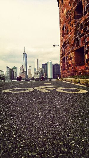 Governors Island NYC Manhattan Skyline