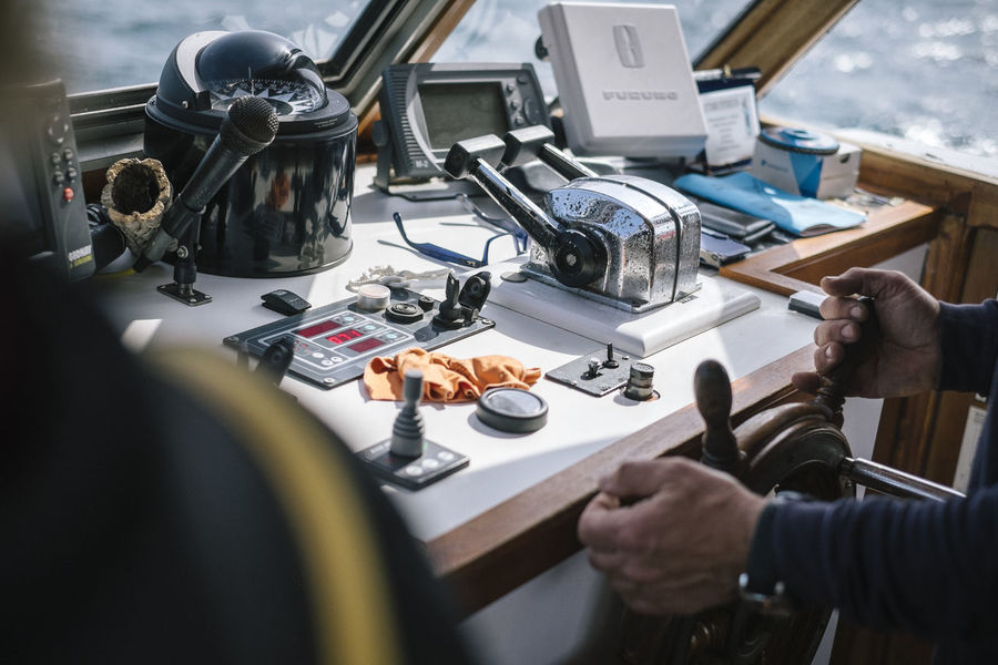Boat Built Structure Captain Compass Control Panel Control Room Interior Views Nautical Nautical Vessel Navigation Navigator  Ocean On A Boat Ship Ships Ships⚓️⛵️🚢 Steering Wheel