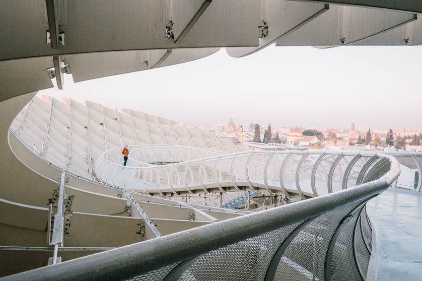 Sevilla / Spain EyeEmNewHere Metropol Parasol SPAIN Sevilla The Graphic City Architecture Building Exterior Built Structure City Cityscape Day Indoors  No People Plaza De España Sky