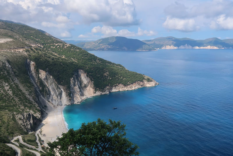 Myrtos beach, Kefalonia - Greece GREECE ♥♥ Greek Greek Islands Kefalonia Island Travel Bay Beach Cloud - Sky Coastline Greece Greece Islands Idyllic Kefalonia Mountain Nature Non-urban Scene Scenics - Nature Sea Sky Summer Tranquil Scene Tranquility Turquoise Colored Vacation Water