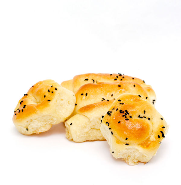 fresh bakery Bread Close-up Croissant Food Fresh Baked Grandma Homemade Food No People Salty White Background