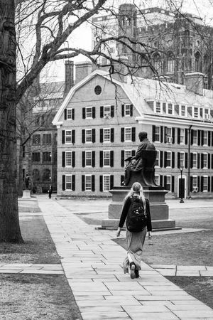 Architecture Connecticut Creativity Historic Lifestyles Sculpture Sidewalk Statue Studies University Campus USA USAtrip Yale University Yale University 💙