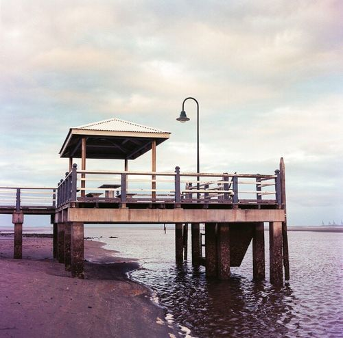 Analogue Photography Australia Sandgate Film Analoguephotography Film Photography Analog C41 Kodak Beach 6x6 Bronica Shorncliffe