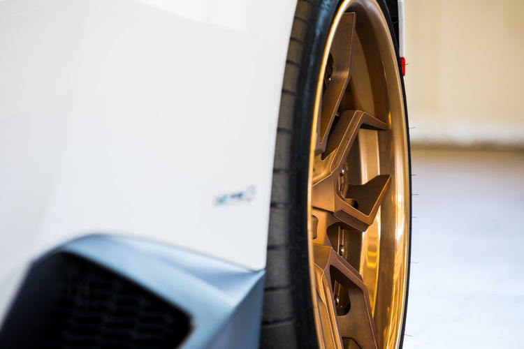 close up of lamborghini wheel Bronze Close-up Gold Indoors  Lamborghini No People Tire Transportation Vehicle Part Wheel