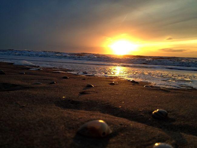 Original Experiences Original Experiences Sundown Sea And Sky Sea Holland Nordwijk Beachphotography Beach