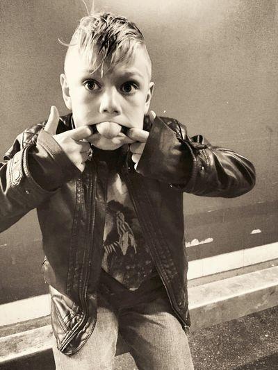 Boy Monkyface Crazy Foolish Copenhagen, Denmark IPhoneography Blackandwhite