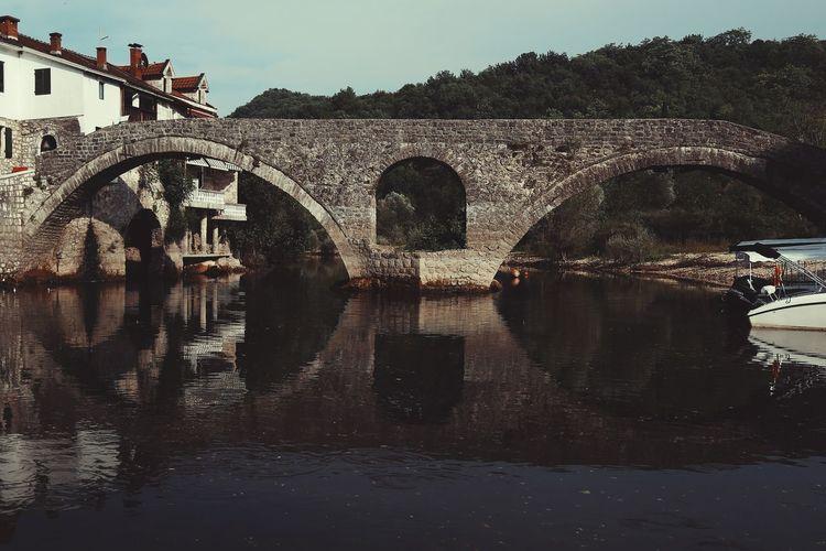 stone bridge Bridges Montenegro Rijeka River Travel Road Trip