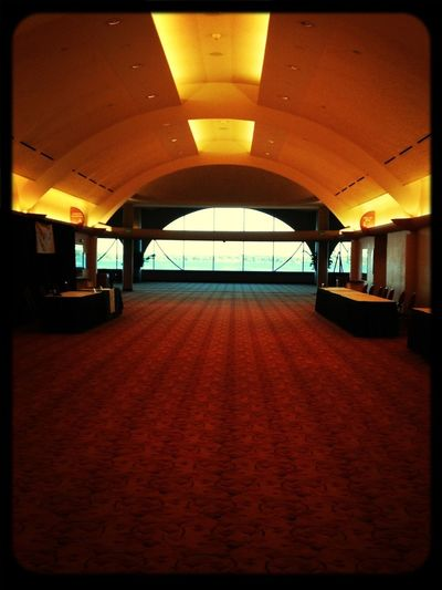 Looking Out Frank Loyd Wright Monona Terrace