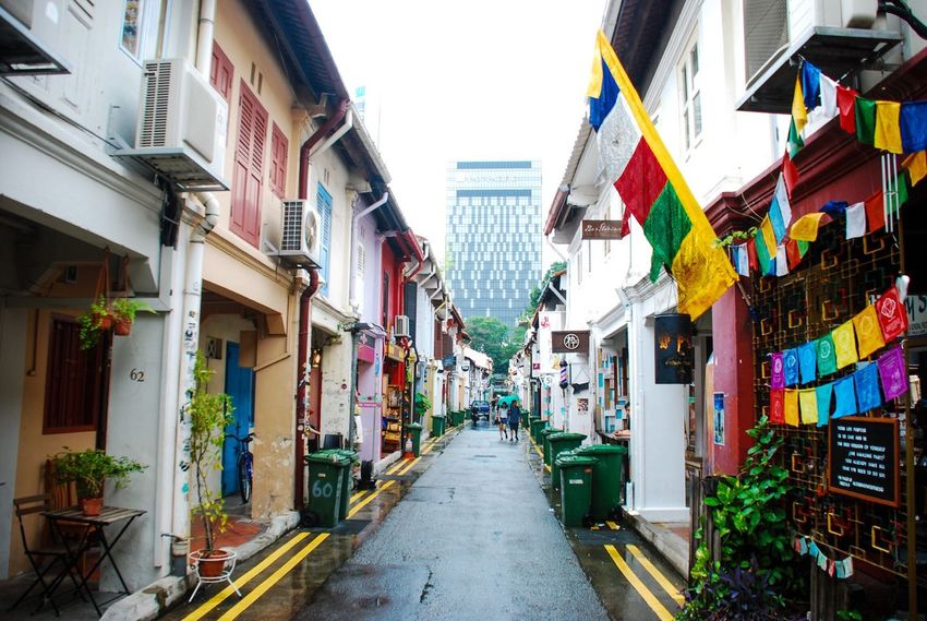 🇸🇬 Building Exterior Built Structure House Residential Building Day The Way Forward No People Outdoors City Haji Lane, Singapore Singapore ASIA Art Wall