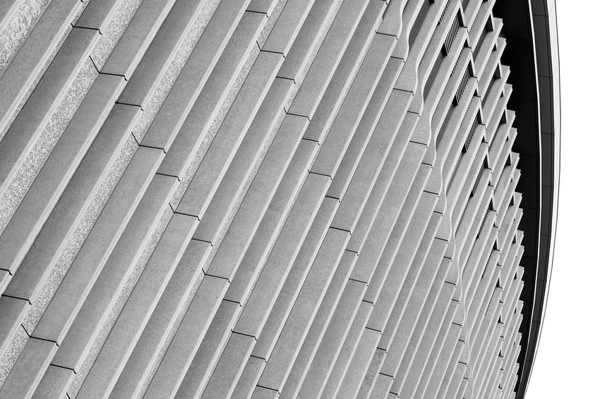 Architecture Façade Abstract Blackandwhite Built Structure In A Row Pattern Repetition