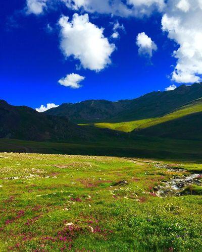 Dosai Grass Beauty In Nature Green Color Majestic Dramatic Landscape Cloud - Sky Mountain Range Gilgit-Baltistan Taking Photos EyeEm Nature Lover EyeEm Best Shots Hidden Gems  Capture The Moment Beautiful Landscape Nature