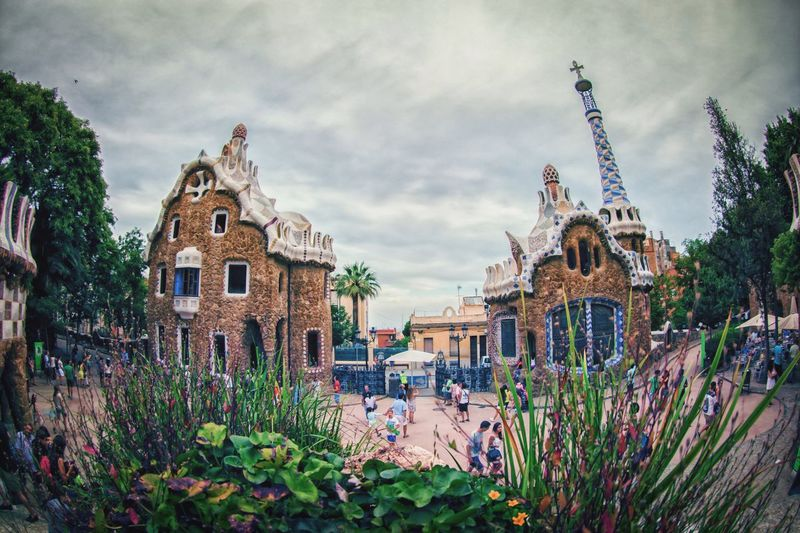 Park Guel magic The Architect - 2014 EyeEm Awards Cityscapes Architecture EyeEm Best Edits Barcelona Park Guell The Tourist